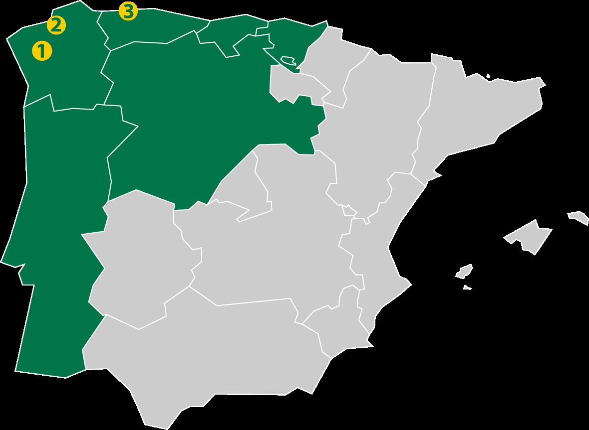 Mapa Delagro
